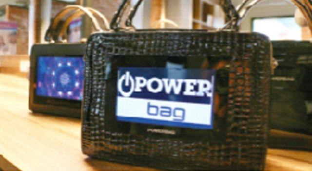 Kadınlara özel teknolojik çanta