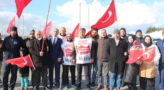 Kanal İstanbul'a vatandaşlardan büyük destek