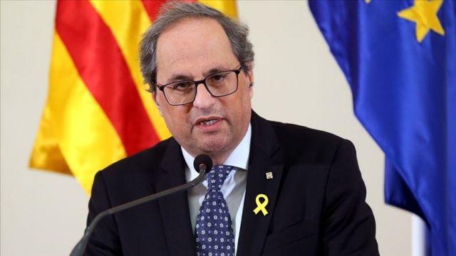 Katalonya Özerk Hükümet Başkanı Torra için hemen görevden alınması kararı çıktı