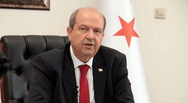 KKTC Başbakanı Tatar, Cumhurbaşkanı Erdoğan'a telefonla taziyelerini iletti