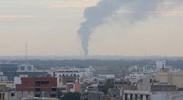 Libya'nın başkentinde patlama sesleri