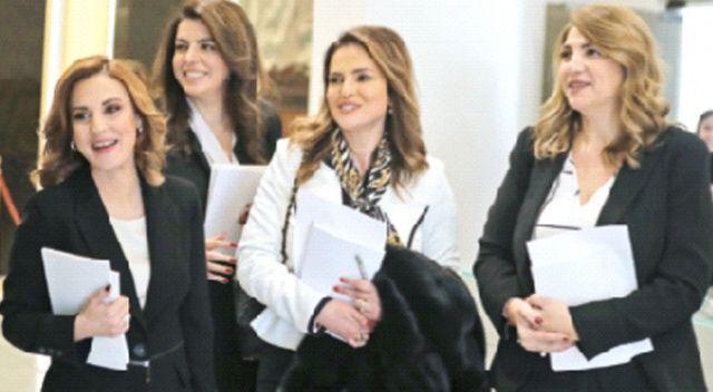 Lübnan'ın yeni umudu altı kadın