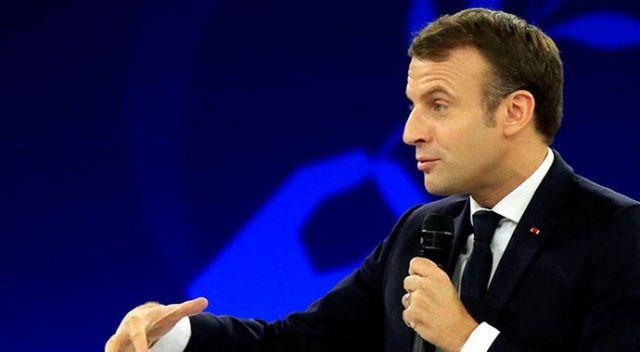 Macron'dan iklim değişikliğiyle mücadele referandumu