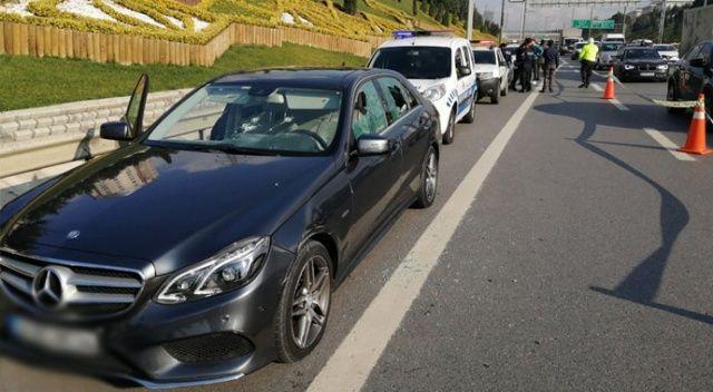 Araca ateş açıp sürücüyü yaralayan magandalar yakalandı