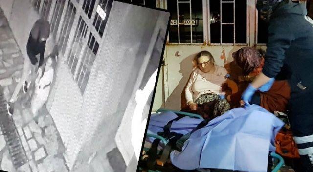 Manisa'da korkunç olay! Sokak ortasında annesine dehşeti yaşattı
