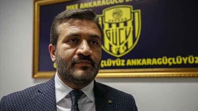 MKE Ankaragücü Başkanı Fatih Mert'ten transfer yasağı açıklaması