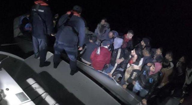 Muğla'nın Bodrum ilçesinde yasa dışı yollardan yurt dışına çıkmaya çalışan 6 düzensiz göçmen yakalandı.