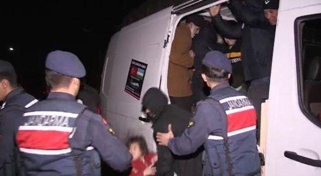 Osmangazi Köprüsünde 48 kaçak göçmen