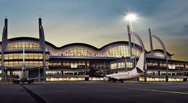 Sabiha Gökçen Uluslararası Havalimanı'nda uçuş rekoru kırıldı