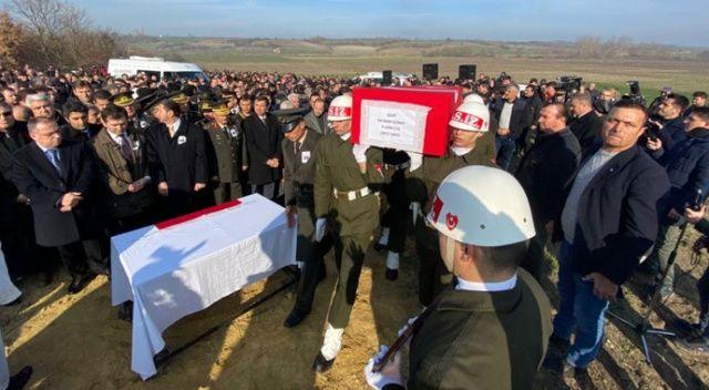 Şehit Uzman Çavuş Günay, Edirne'de son yolculuğuna uğurlandı