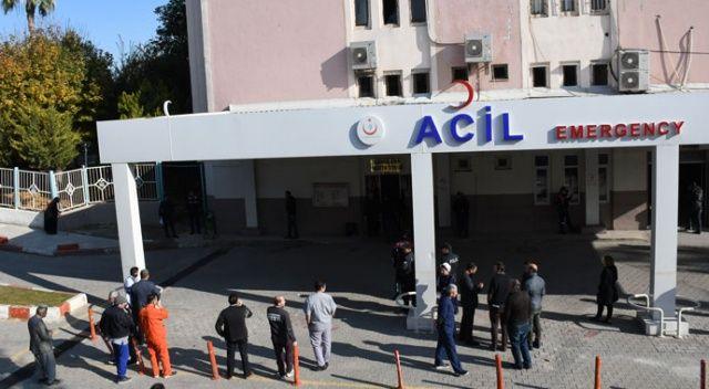 Tarsus Devlet Hastanesinde patlama: 5 yaralı
