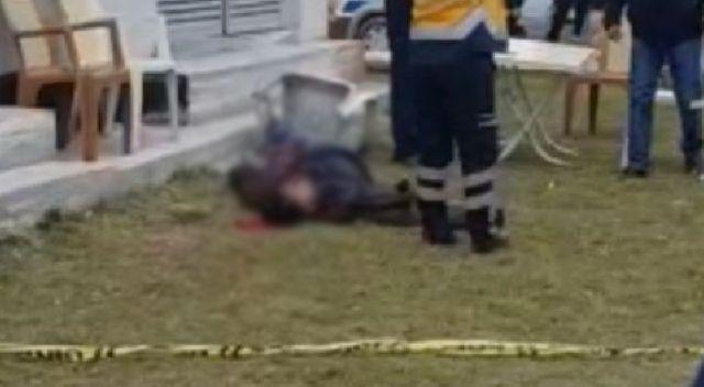 Tartıştığı kuzenini 3 kurşunla parkta öldürdü