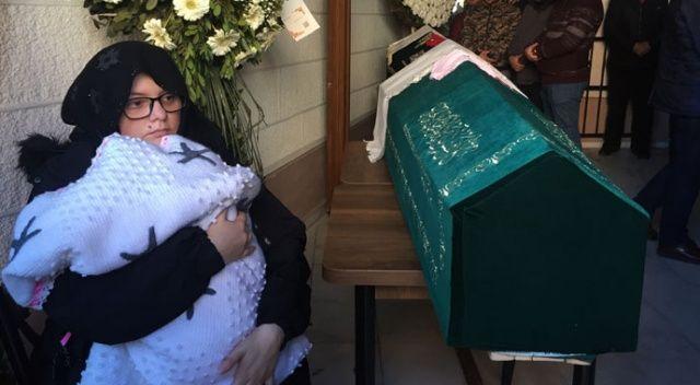 Ümraniye'deki trafik kazasında hayatını kaybeden çiftin cenazesi toprağa verildi