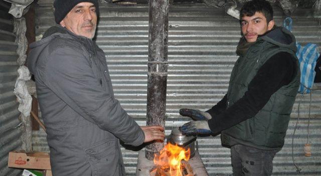 Yüksekova'da soğuk hava hayatı olumsuz etkiliyor