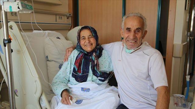 44 yıllık eşini böbreğiyle hayata bağladı