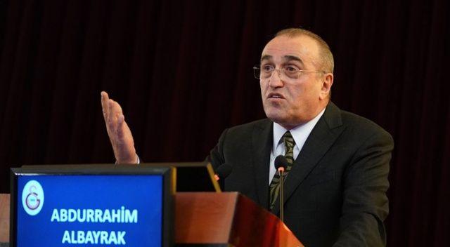 """Abdurrahim Albayrak: """"Galatasaray'ın borcu yönetilebilir duruma geldi"""""""