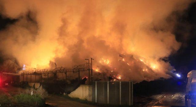 Adana'daki fabrika yangını 1 gündür sürüyor