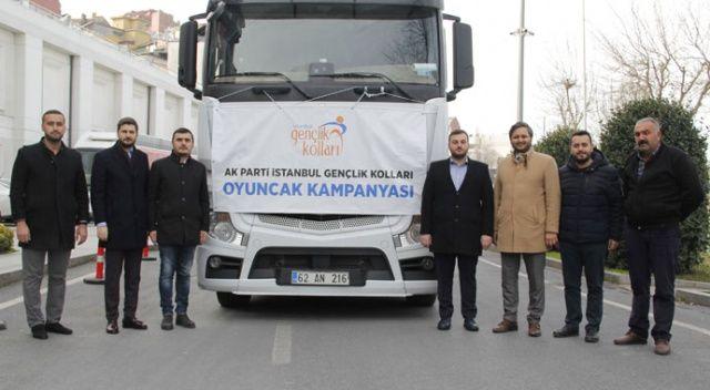 AK Parti'den Elazığ ve Malatya'daki depremzede çocuklara oyuncak yardımı