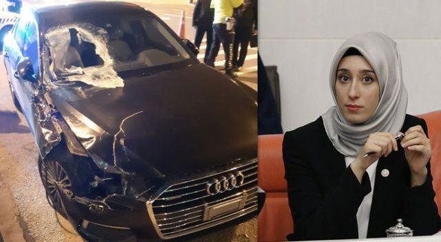 AK Parti'li Milletvekili Kadak trafik kazası geçirdi