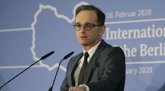 Almanya Dışişleri Bakanı Maas: Tüm taraflar Berlin Konferansı'ndaki hedefleri tekrar teyit etti