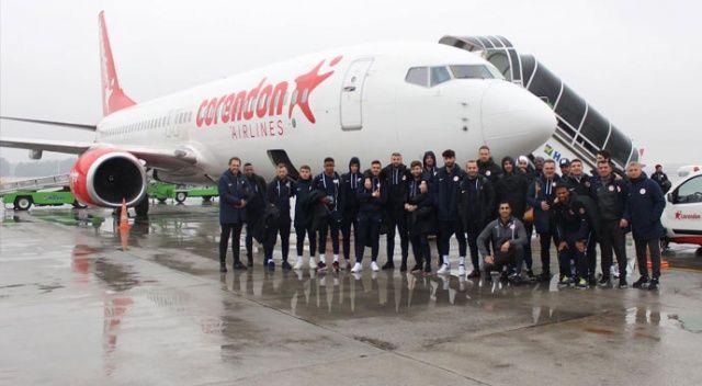 Antalyaspor'un uçağı Sivas'a inemedi