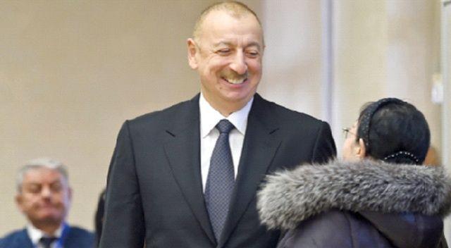 Azerbaycan'da zafer İlham Aliyev'in oldu