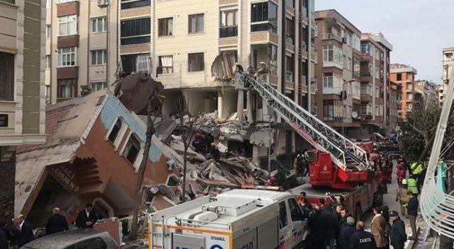Bahçelievler'de çöken binayla ilgili Çevre ve Şehircilik Müdürlüğünden açıklama