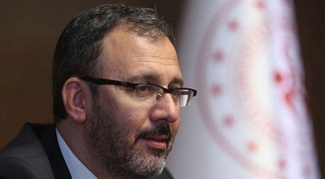 Bakan Kasapoğlu, vefat eden Hilmi Ok için taziyede bulundu