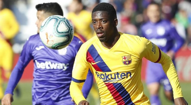 Barcelona'da Dembele 6 ay sahalardan uzak kalacak