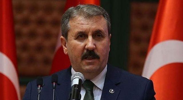 BBP Genel Başkanı Destici: 'Devletimizin, milletimizin ve kahraman ordumuzun yanındayız'