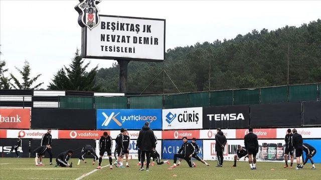 Beşiktaş, Başakşehir maçının hazırlıklarını tamamladı