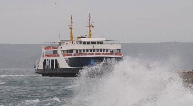 Bozcaada ve Gökçeada feribot seferlerinde yeni iptaller