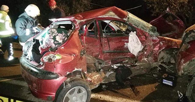 Bursa'da feci kaza, ölü ve yaralılar var