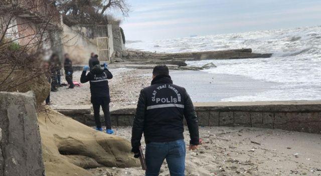 Büyükçekmece'de sahile vurmuş cansız beden bulundu