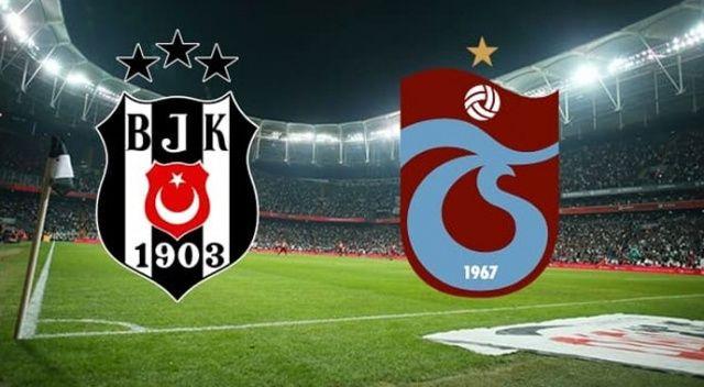 Beşiktaş, evinde Trabzonspor ile 2-2 berabere kaldı