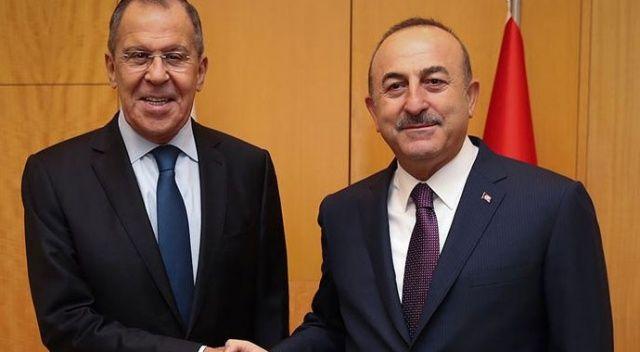 Dışişleri Bakanı Mevlüt Çavuşoğlu ile Rus mevkidaşı Sergey Lavrov, Pazar günü Münih'te görüşecek.