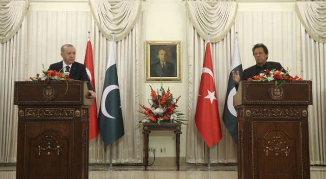 Cumhurbaşkanı Erdoğan: Türkiye, Keşmir sorununun diyalog yoluyla çözülmesinden yanadır