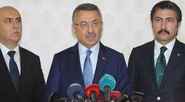 Cumhurbaşkanı Yardımcısı Oktay: Arama kurtarma çalışmaları tamamlandı