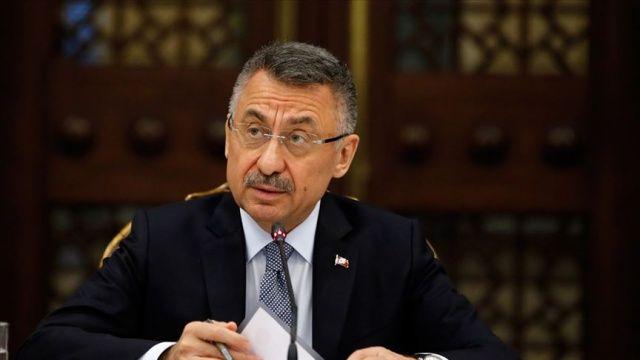 Cumhurbaşkanı Yardımcısı Oktay'dan İdlib'deki saldırıya tepki