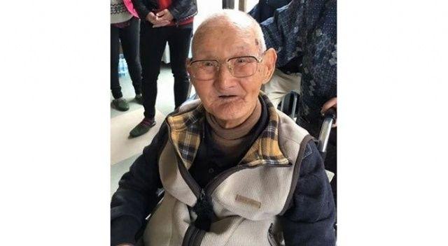 Dünyanın en yaşlı erkeği Japon Chitetsu Watanabe...