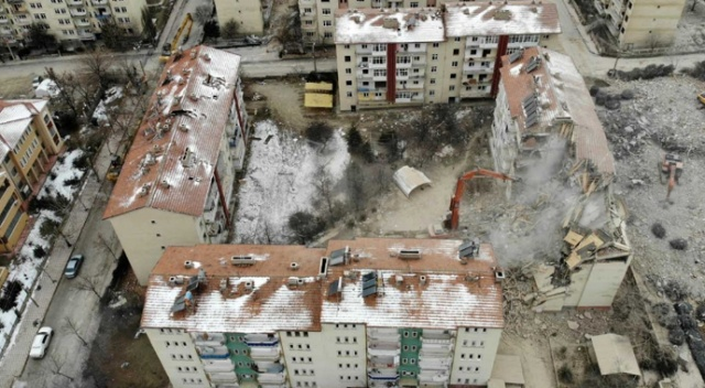 Elazığ'da 275 binanın yıkım işlemi tamamlandı