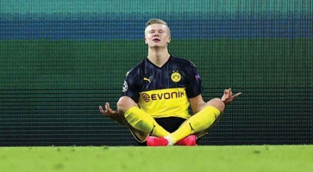 Erling Haaland, gösterdiği performansla Avrupa futbolunun gündemine oturdu