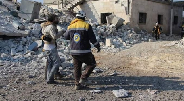 Esad rejimi Atarib ilçesini vurdu: 2 ölü, 5 yaralı