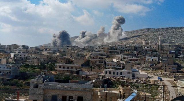 Esad rejimi ve Rus savaş uçakları Halep kırsalını vurdu