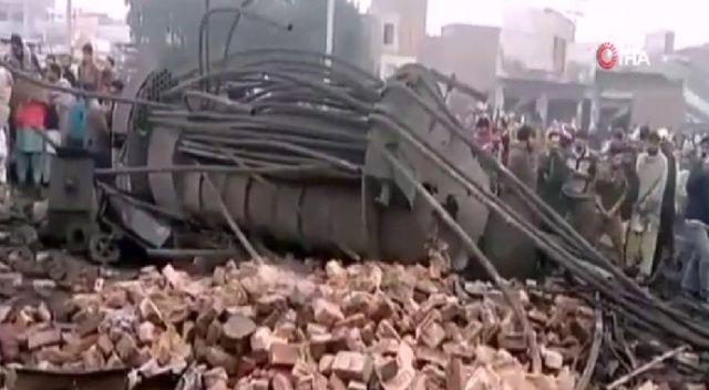 Fabrikada patlama: 4 ölü, 12 yaralı