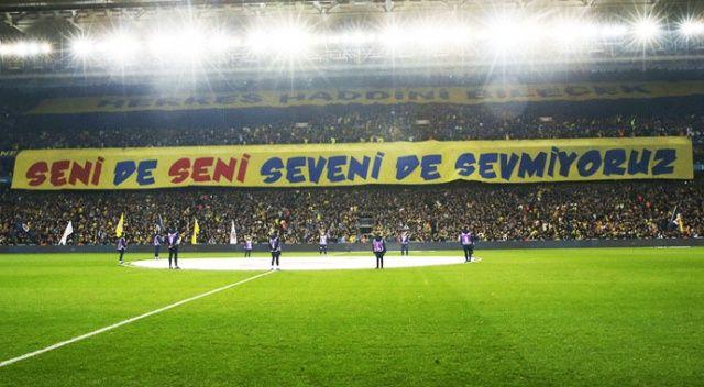 Fenerbahçe'den Galatasaray'a pankart cevabı