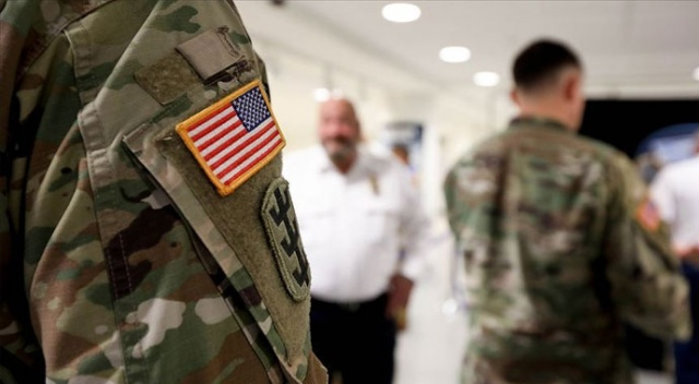 Güney Kore'de görevli Amerikan askerinde...