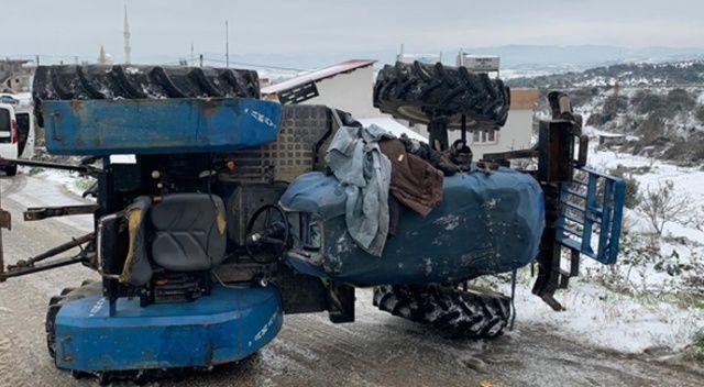 Hatay'da traktör devrildi: 1 kişi hayatını kaybetti