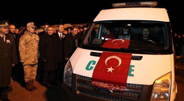İdlib'de şehit olan Piyade Uzman Çavuş Akın'ın cenazesi Tokat'a getirildi