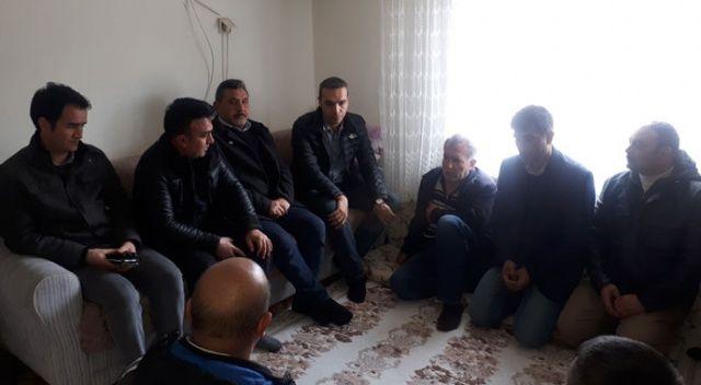 İdlib'de yaralanan askerin ailesine ziyaret